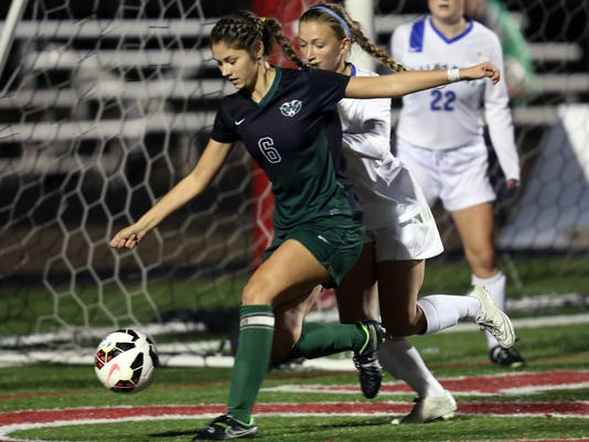 Hamilton Badin at Summit Country Day Girls State Semi-Finals