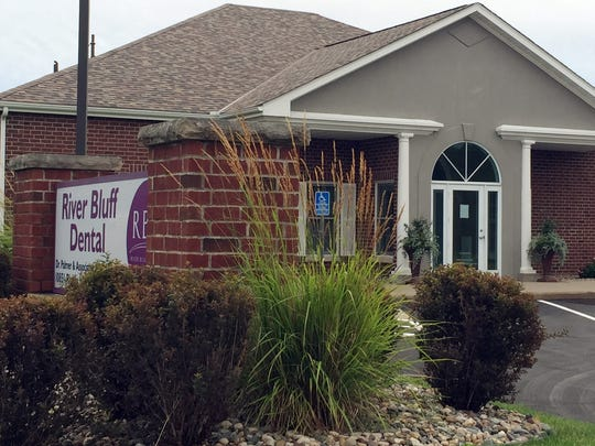 This photo shows the dental offices of Walter James Palmer in Bloomington, Minn., on Tuesday, July 28, 2015.