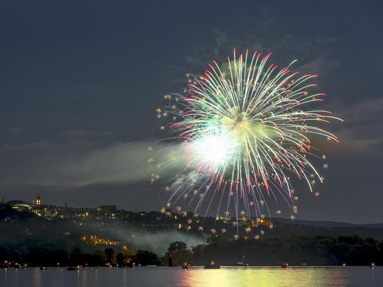 The Ithaca Community Fireworks will be held Sunday, the eve of Independence Day.