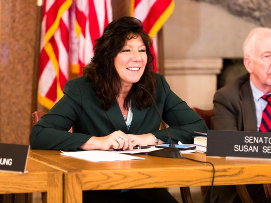 Sen. Sue Serino R-Hyde Park supports legislation to