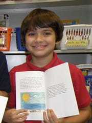 Aaron Beauchamp shown here in fourth-grade at F.K. Sweet Elementary School