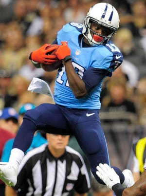 Titans wide receiver Kendall Wright.