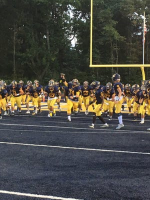 St. Joseph (Met.) at Colonia football on Friday, Sept. 22, 2017.