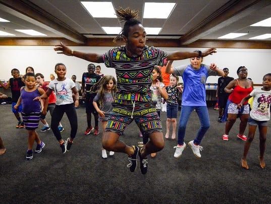 PHOTO: Hip-hop camp