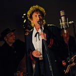 Bob Dylan, seen here performing on the 'Late Show with David Letterman' in May 2015, turns 75 today.