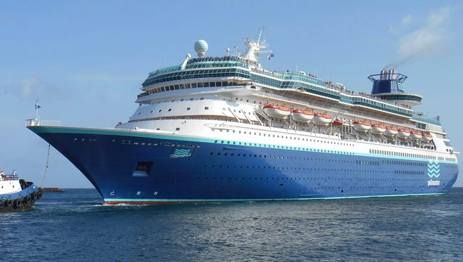 No. 5: Sovereign Class. The Monarch of the Seas was transferred to Royal Caribbean's Pullmantur Cruises division in 2013 and currently sails for the Spanish-speaking market as the blue-hulled Monarch.
