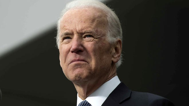 Vice President Joe Biden speaks during the dedication of the Edward M. Kennedy Institute for the United States Senate in Boston March 30.