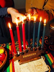 The first day of Kwanzaa - a non-religious festival
