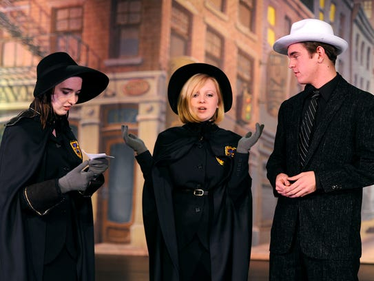 Mikayla Condra (from left) stars as Gen.Cartwright,