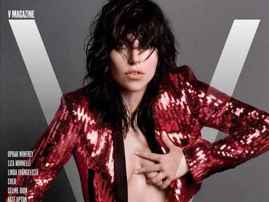 Lady Gaga on V Magazine