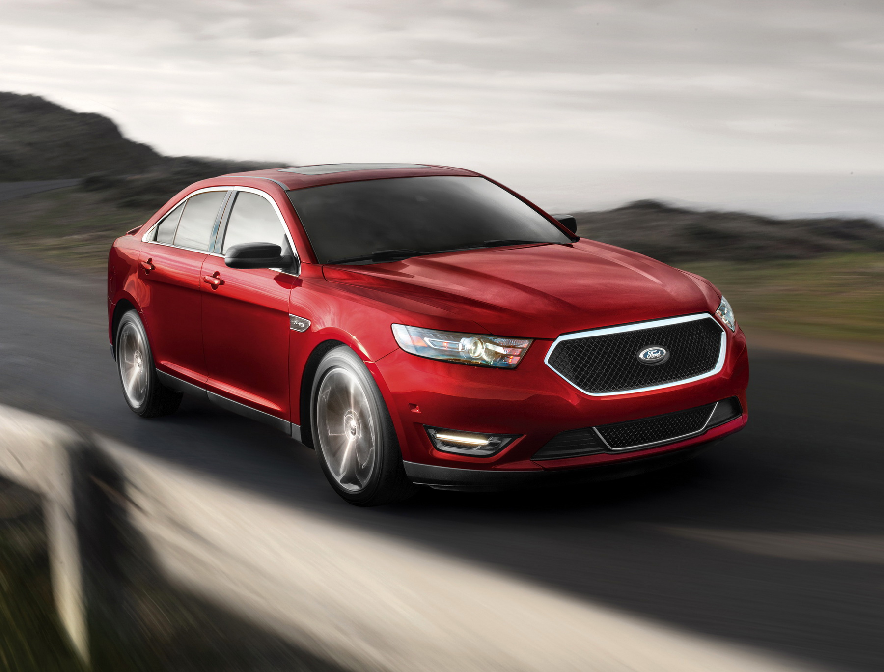 2015 cars CEC Tuning wheels Ford Ford Taurus SHO wallpaper ...