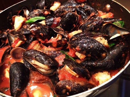 Pat Trama is bringing his signature mussels appetizer to his new restaurant, Trama's Trattoria in Long Branch.