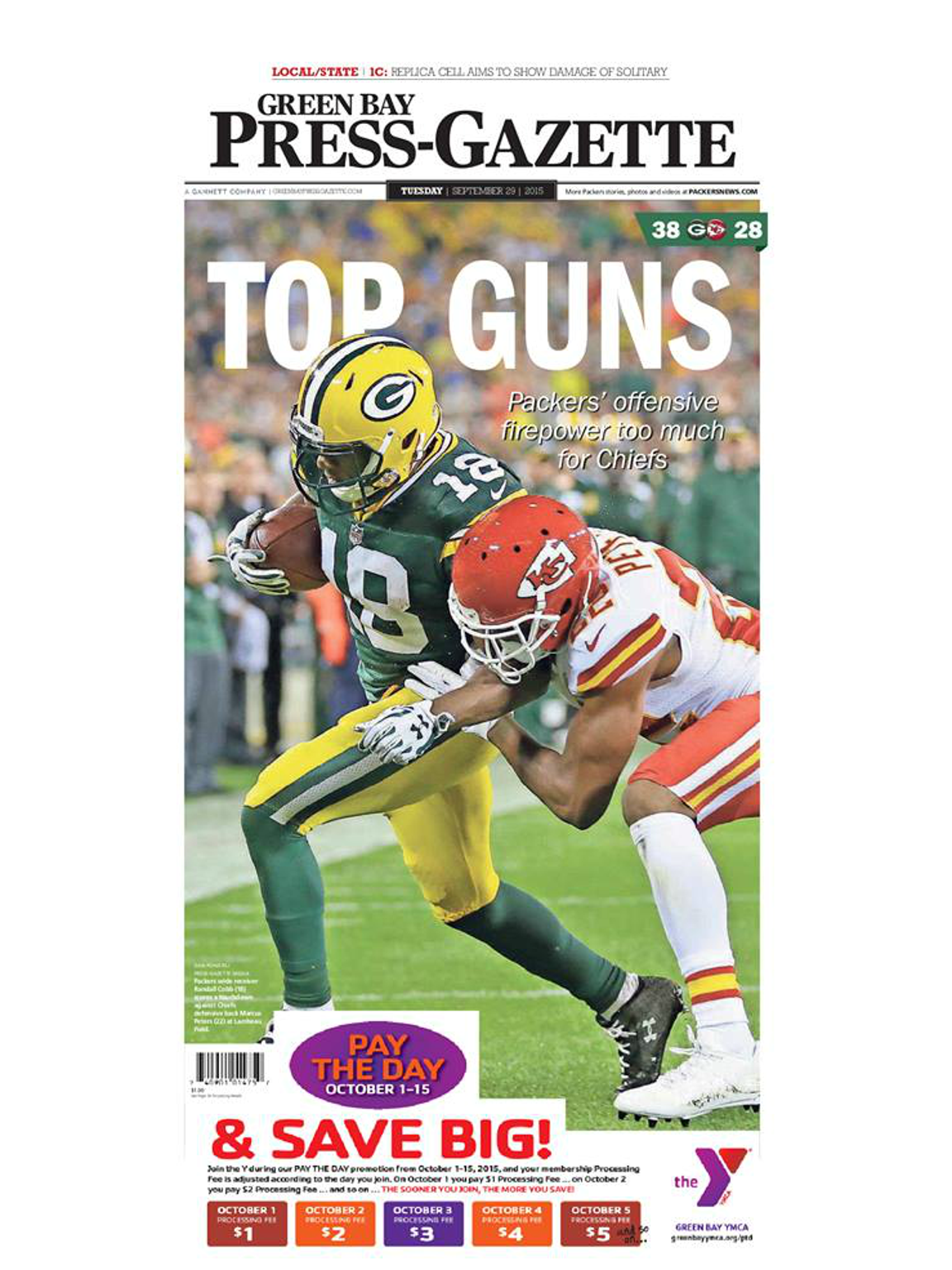 Game 3: Packers 38, Chiefs 28
