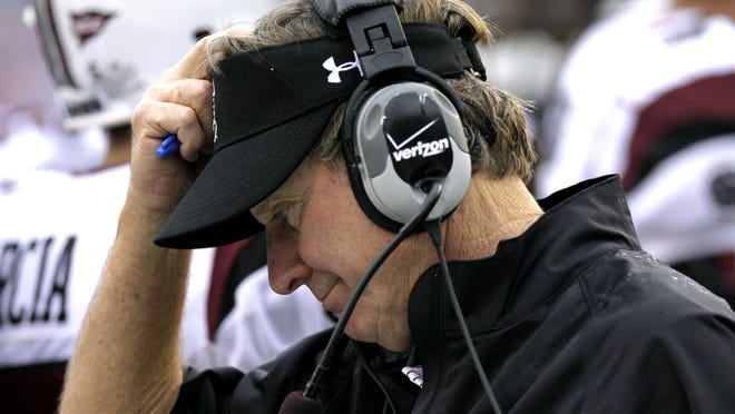 Maybe Steve Spurrier should consider if it's time to get out of coaching.