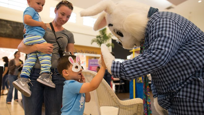 The Easter Bunny will kick off its stay in Corpus Christi with a 10 a.m. breakfast with arts and crafts, face painting and more at La Palmera mall, 5488 South Padre Island Drive.