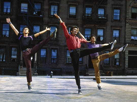 """Jerome Robbins' choreography plus an Oscar-winning score helped bring home the Best Picture Oscar for """"West Side Story."""""""
