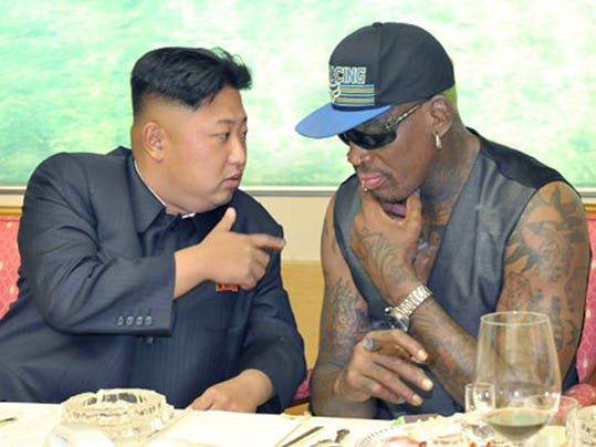 AP NORTH KOREA RODMAN I PRK