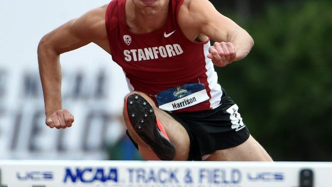 Former MUS star Harrison Williams dominated the competition at the recent Pac-12 championship meet on his home track at Stanford.