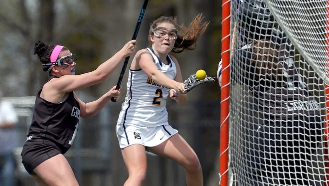 Spencerport's Erin Coykendall, pictured last year, helped lead the Rangers past Brockport in a Monroe County game.