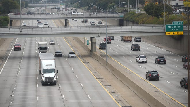 I-696 at Mound Road. MDOT says the work will be on roughly 10 miles of westbound I-696 — from I-75 to I-94.