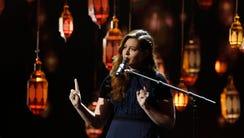 Mandy Harvey is a finalist on 'America's Got Talent.'
