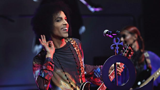 Prince, shown at a 2015 concert in Toronto, played the Cajundome in 1997.