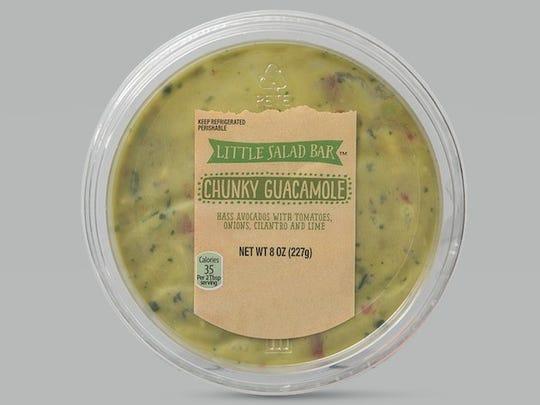 Spreads: ALDI Little Salad Bar Assorted Fresh Guacamole