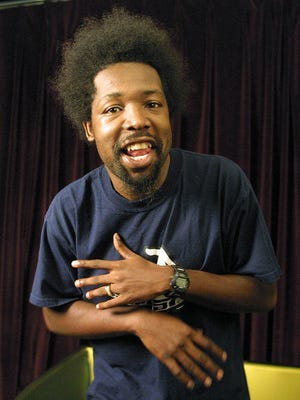 Joseph Foreman, aka Afroman, poses for a portrait in New York in 2001.