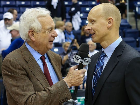 College basketball analyst Bill Raftery.