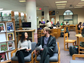 Students perform at the Millburn High School library