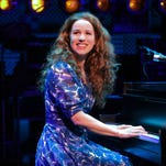 """This image released by the O and M Company shows Canadian actress-singer Chilina Kennedy who is taking over from Jessie Mueller in """"Beautiful: The Carole King Musical"""" on March 7. (AP Photo/The O and M Co., Joan Marcus)"""