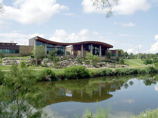 The San Angelo Visitor's Center.