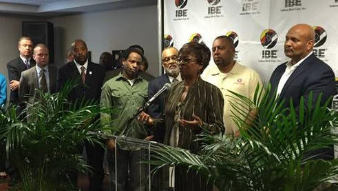 Pat Roe of USA Funds, who spoke Tuesday at the Your Life Matters event at Indiana Black Expo, pledged that her college funding organization would bring together resources to pay for the Your Life Matters effort for a minimum of three years.