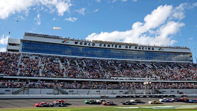 Generic view of Daytona International Speedway.