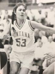 Malia Kipp of Browning played on four straight Big