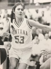Malia Kipp of Browning played on four straight Big Sky Conference championship teams for the Montana Lady Griz.