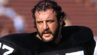 Lyle Alzado's 15-year NFL career concluded with the Raiders in 1985.