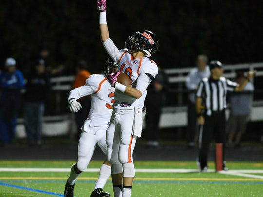 JC Pagan and the Hasbrouck Heights High School football team seek a second-straight North 1 Group 1 title when the Aviators face rivals Pompton Lakes in Saturday's state sectional final at Kean University.