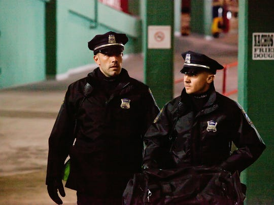 """Ben Affleck, left, and Jeremy Renner star in """"The Town,"""" which Affleck directed."""