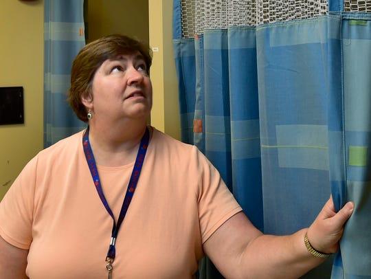 Chambersburg Area Senior High School nurse Donna Rock