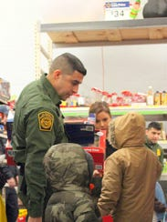 U.S. Customs and Border Protection, along with local
