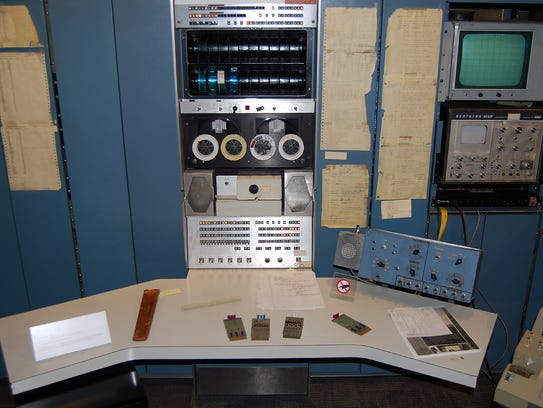 This Digital Equipment Corporation PDP-7 was installed
