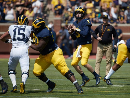 NCAA Football: Michigan Spring Game