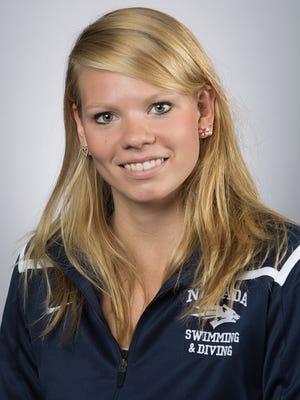 Teresa Baerens was named Mountain West swimmer of the week.