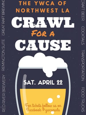 YWCA hosts the inaugural Crawl for a Cause Saturday beginning at Red River Brewing.