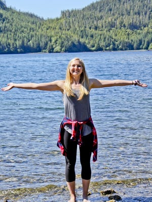 Karen Hjelle, who grew up in Malone and is a graduate of Winnebago Lutheran Academy in Fond du Lac, is spending this summer in Alaska as an intern at a hotel.