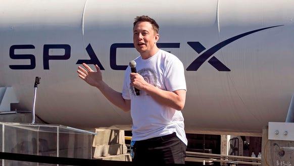 SpaceX CEO Elon Musk congratulates teams competing