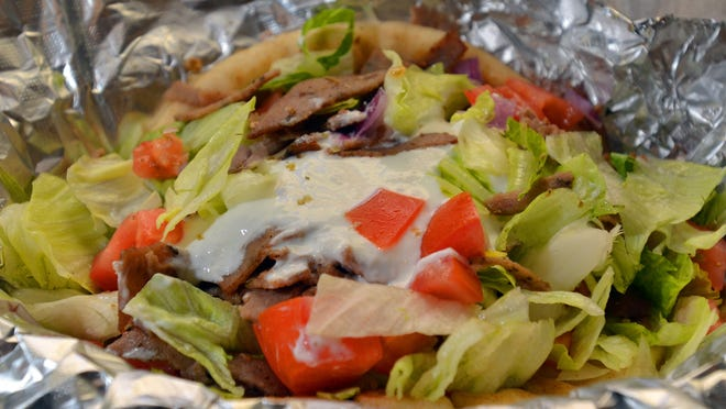 One of the specialties at Krilakis on W. Jackson Street in Ridgeland is the lamb and beef gyro with a Tzatziki sauce.