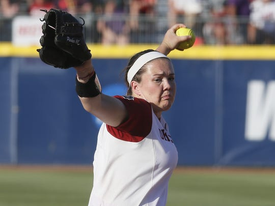 Paige Parker was drafted No. 1 by the USSSA Pride out