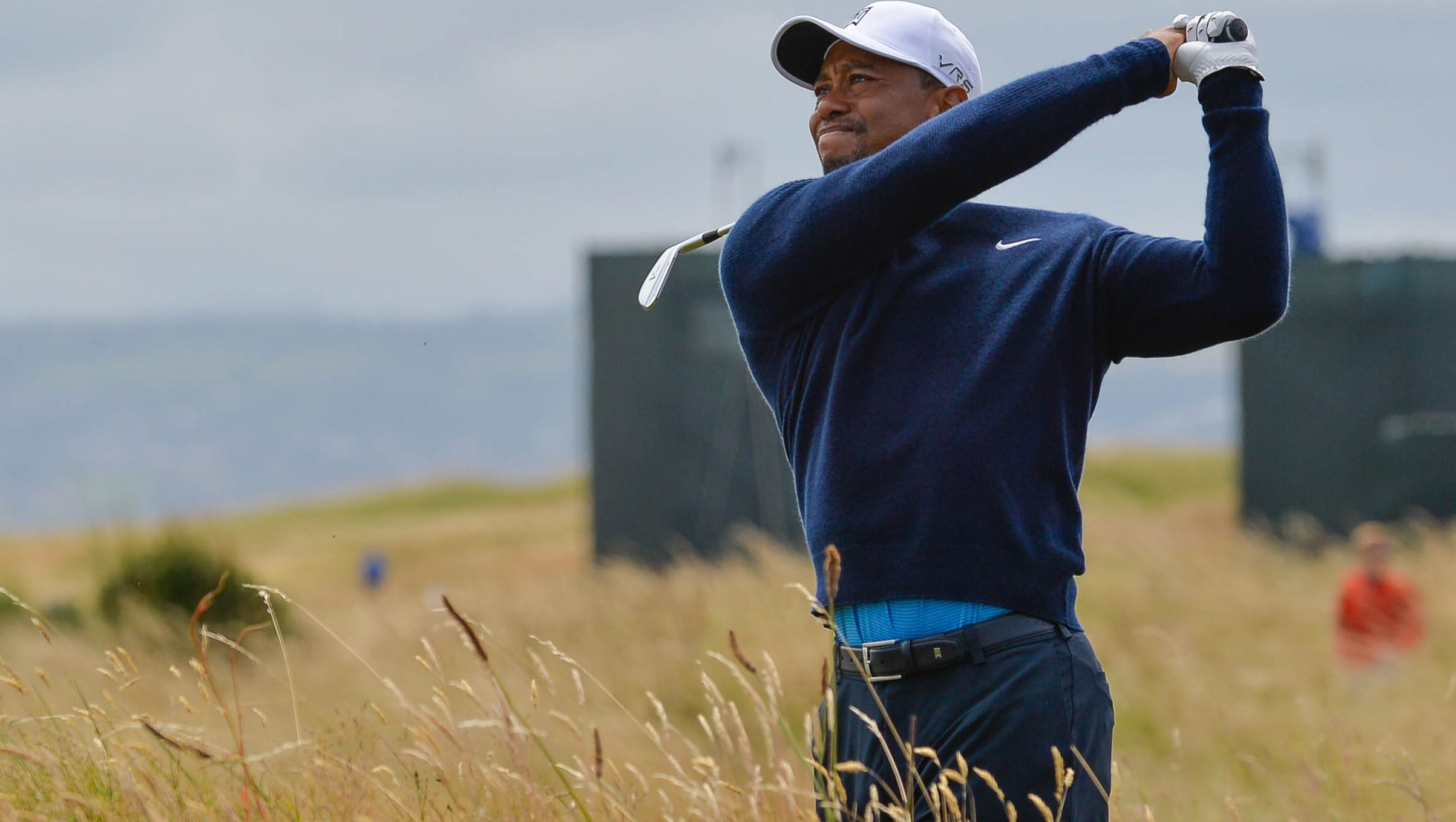 tiger upbeat for british open at site of 2006 victory